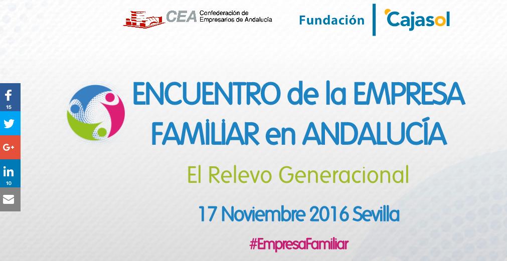 STACIA CONSULTORES EN EL ENCUENTRO DE LA EMPRESA FAMILIAR EN ANDALUCÍA