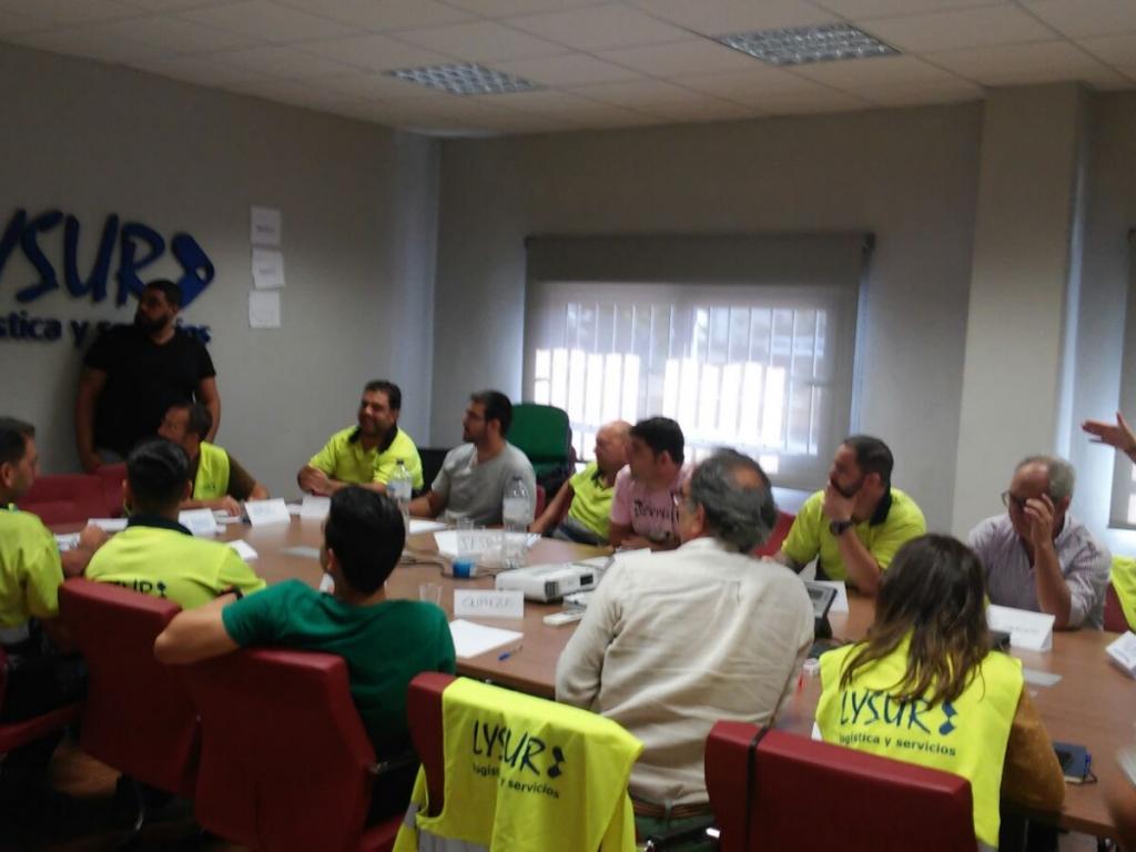 COMUNICACIÓN Y TRABAJO EN EQUIPO PARA EL GRUPO HEROGRA