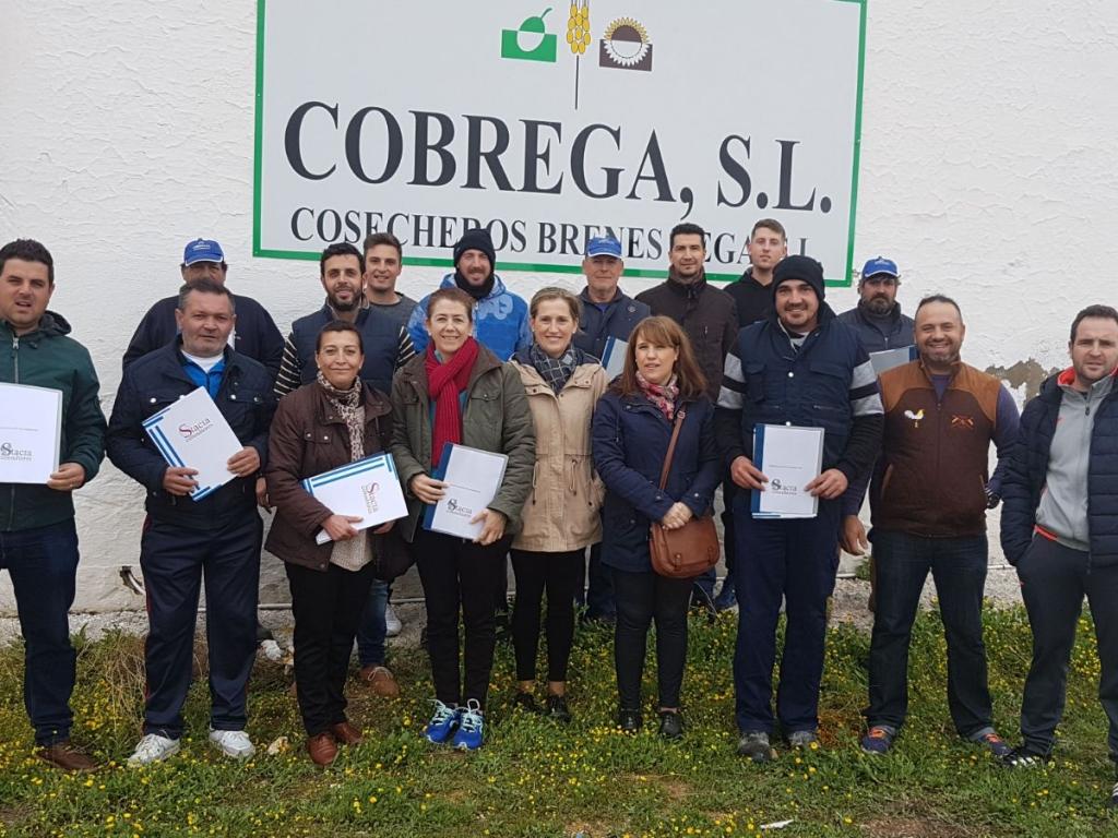 HIGIENE Y SEGURIDAD ALIMENTARIA PARA COBREGA, S.L.