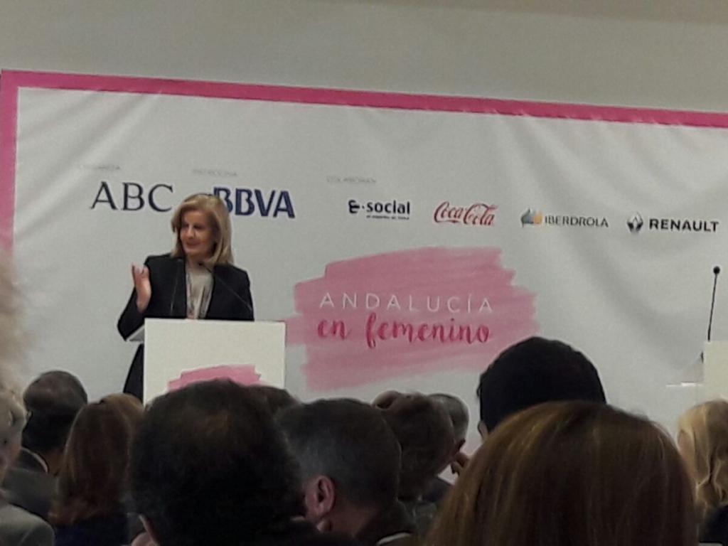 STACIA CONSULTORES ASISTE A LA CLAUSURA DEL CICLO ANDALUCÍA EN FEMENINO DE ABC EN SEVILLA